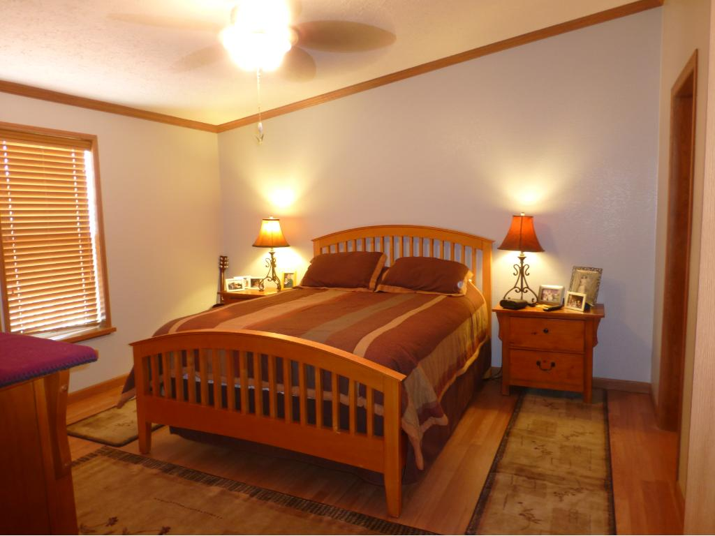 Master Bedroom has Large Walk-in Closet