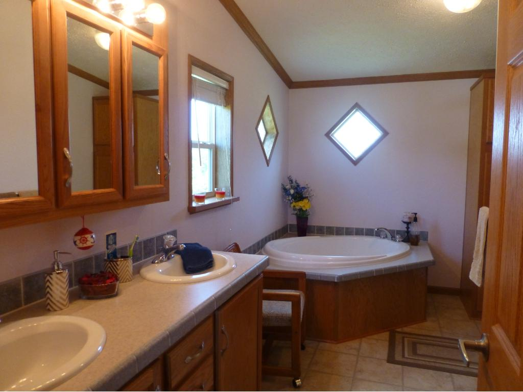 Private Master Bathroom/Double Sink/Jetted Tub/Walk-in Closet