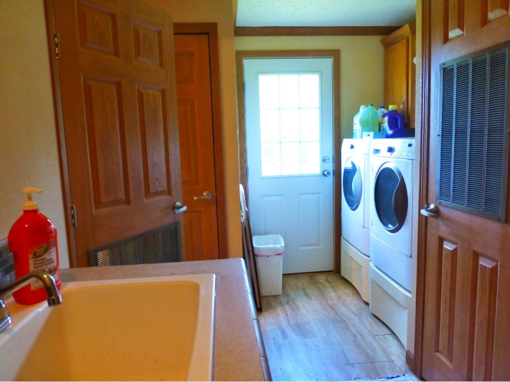 Laundry/Utility/Mud Room has sink
