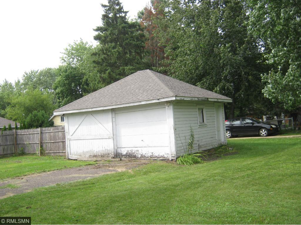 2 car detached garage with door opener. New roof in 2016