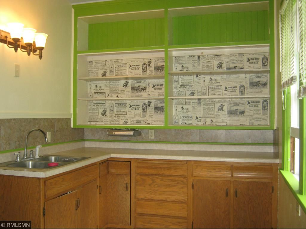 Kitchen, updated with newer cabinets and appliances.  Cabinet doors are available