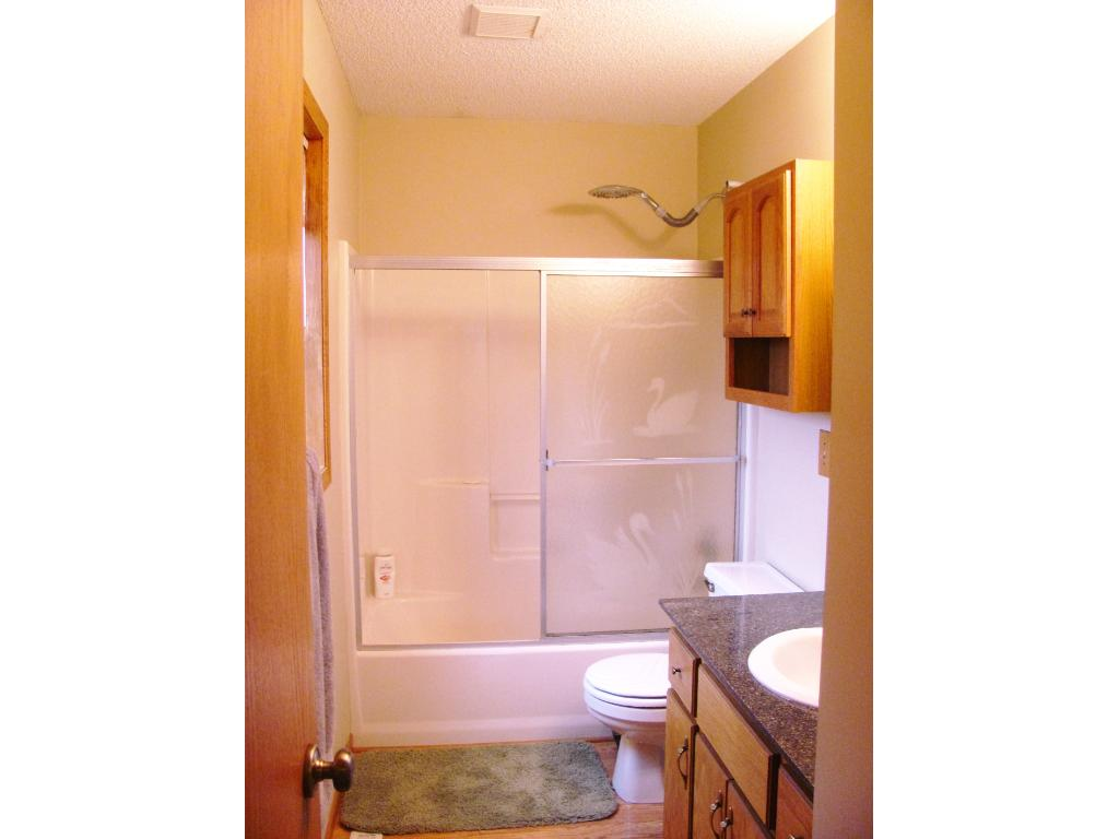 Full master bathroom. there is an additional full bath on this upper level.