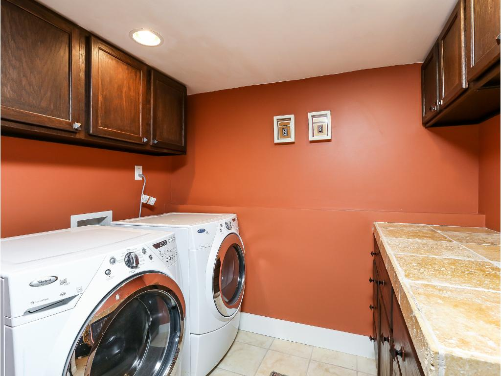 Laundry room so nice you'll want to do the laundry!!