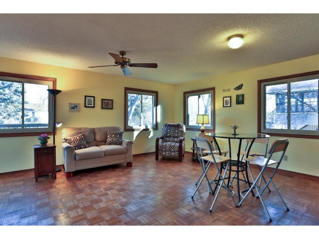 Family room and informal dining room.