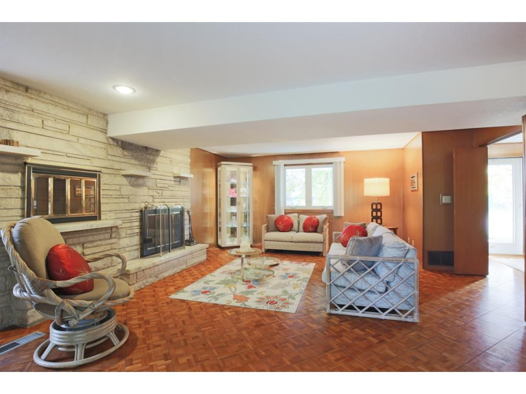 Huge great room is another wonderful gathering space for entertaining on main level!