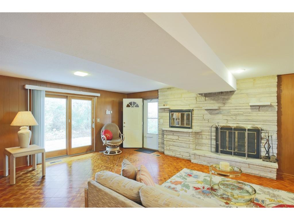 Great room walks out to private patio!