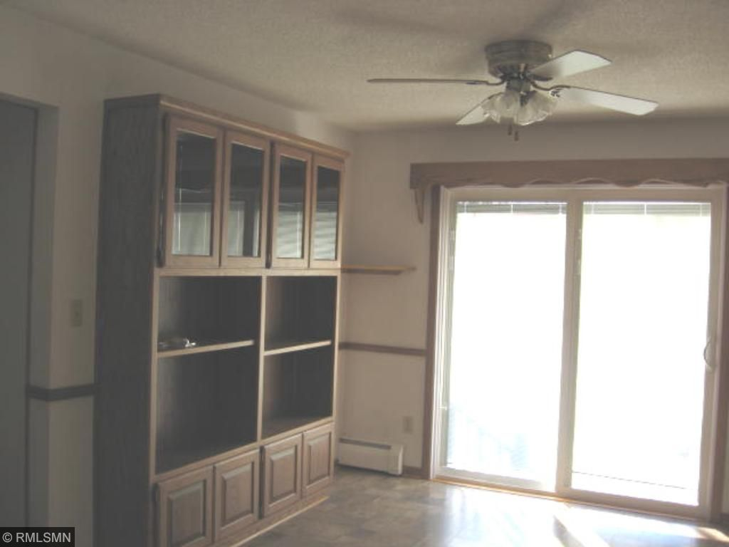 Formal dining room with ton's of built in cabinets