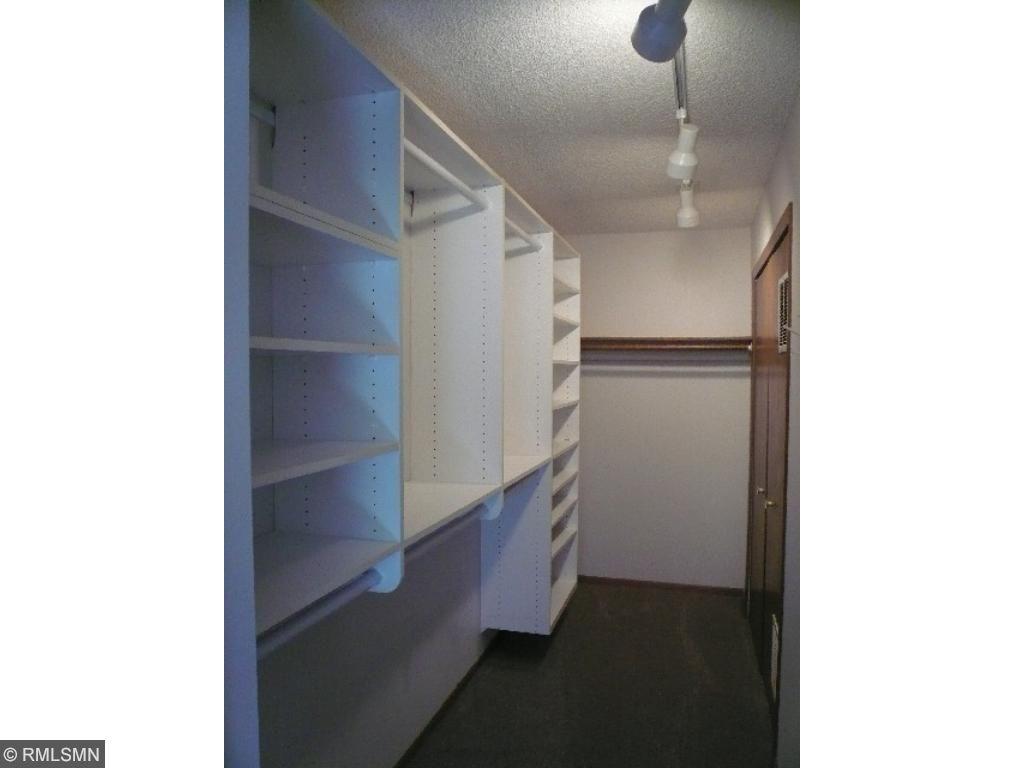 Large custom walk-in master closet