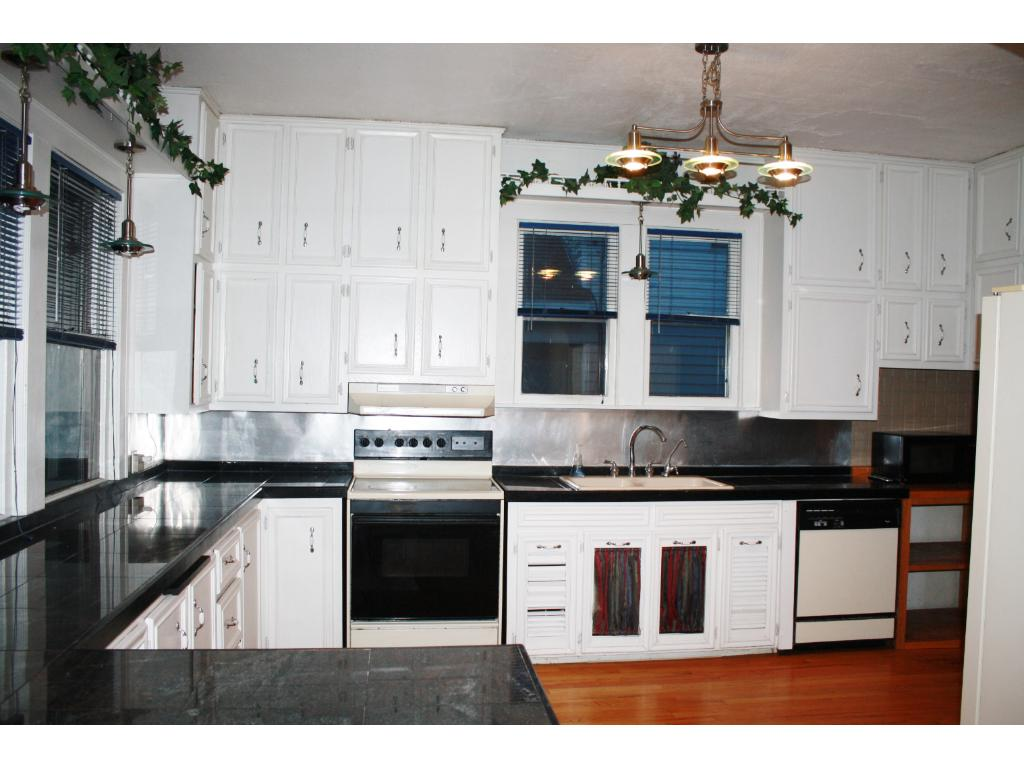 huge kitchen with granite countertops