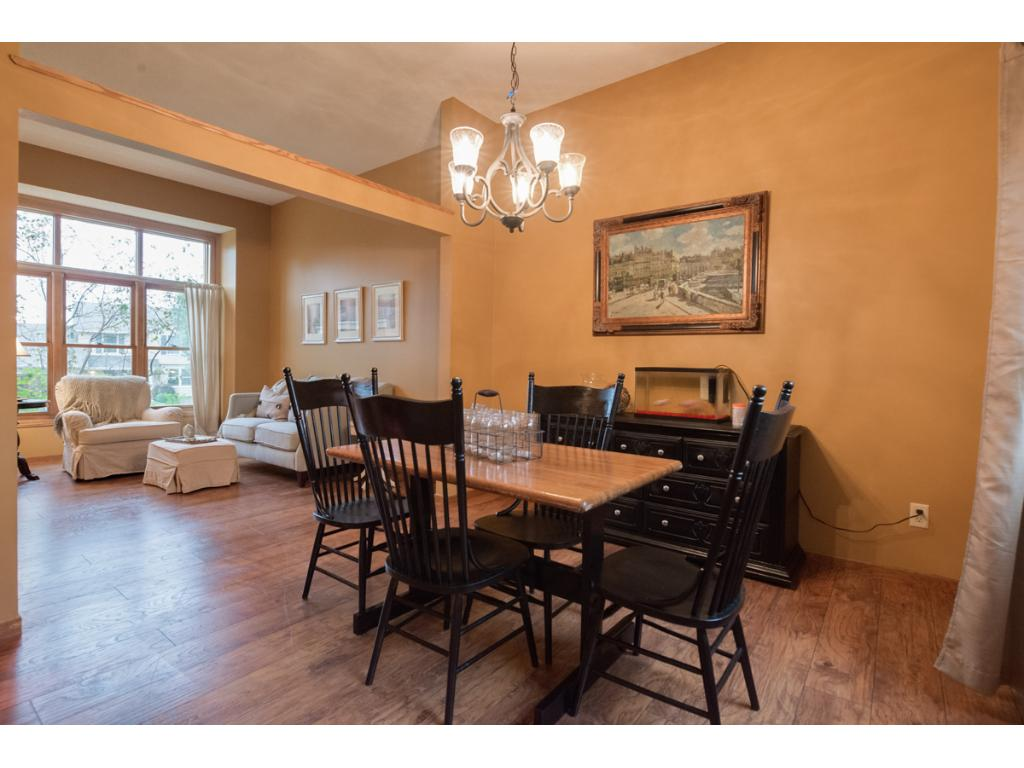 Enjoy entertaining in the formal dining room, which is open to the living room.