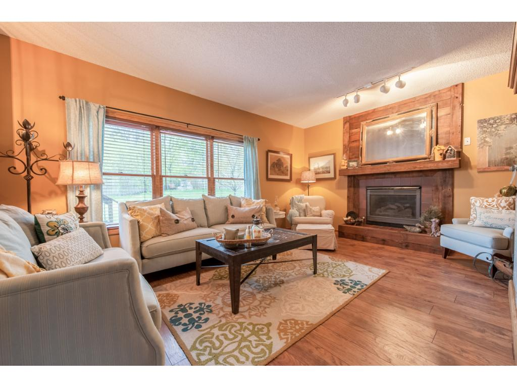 You'll love the main level family room with a gas-burning fireplace for cozy evenings.