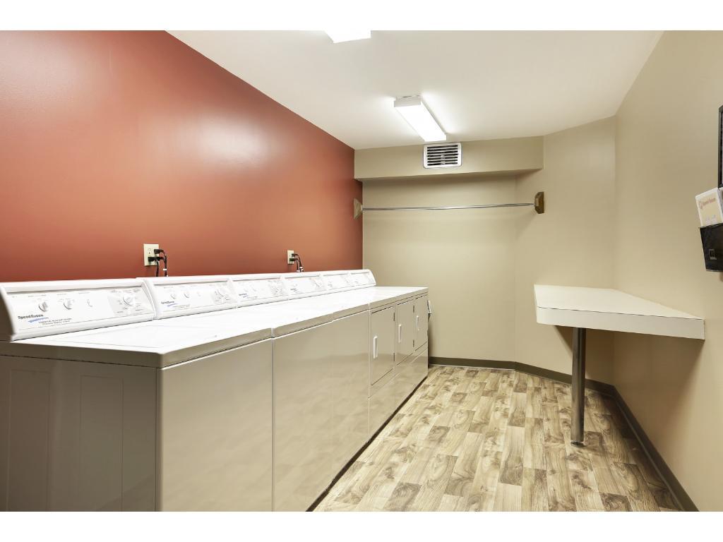 Laundry room, one on each floor.
