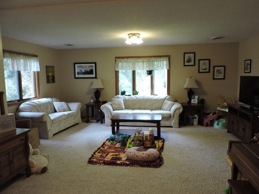 Large main floor living room