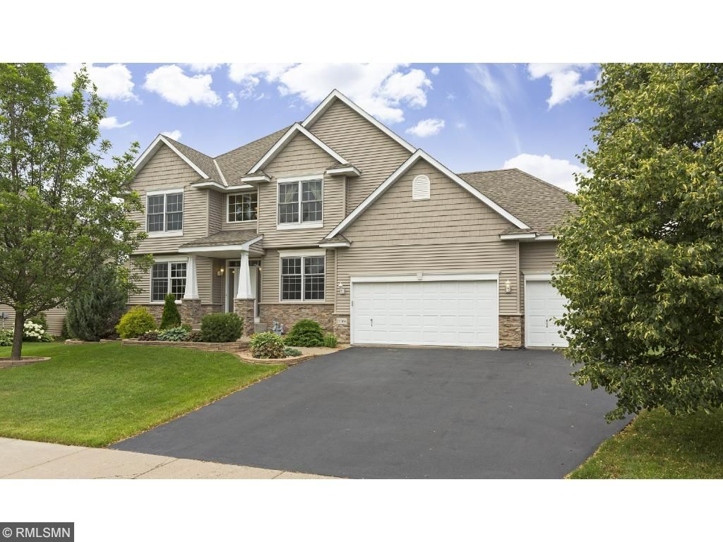 Spacious Chadwick Farms Two-Story home with fenced backyard and tons of upgrades including finished lower level.  Walking distance to Lakeville South.