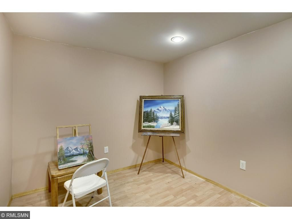 Craft room, play room or additional storage room.