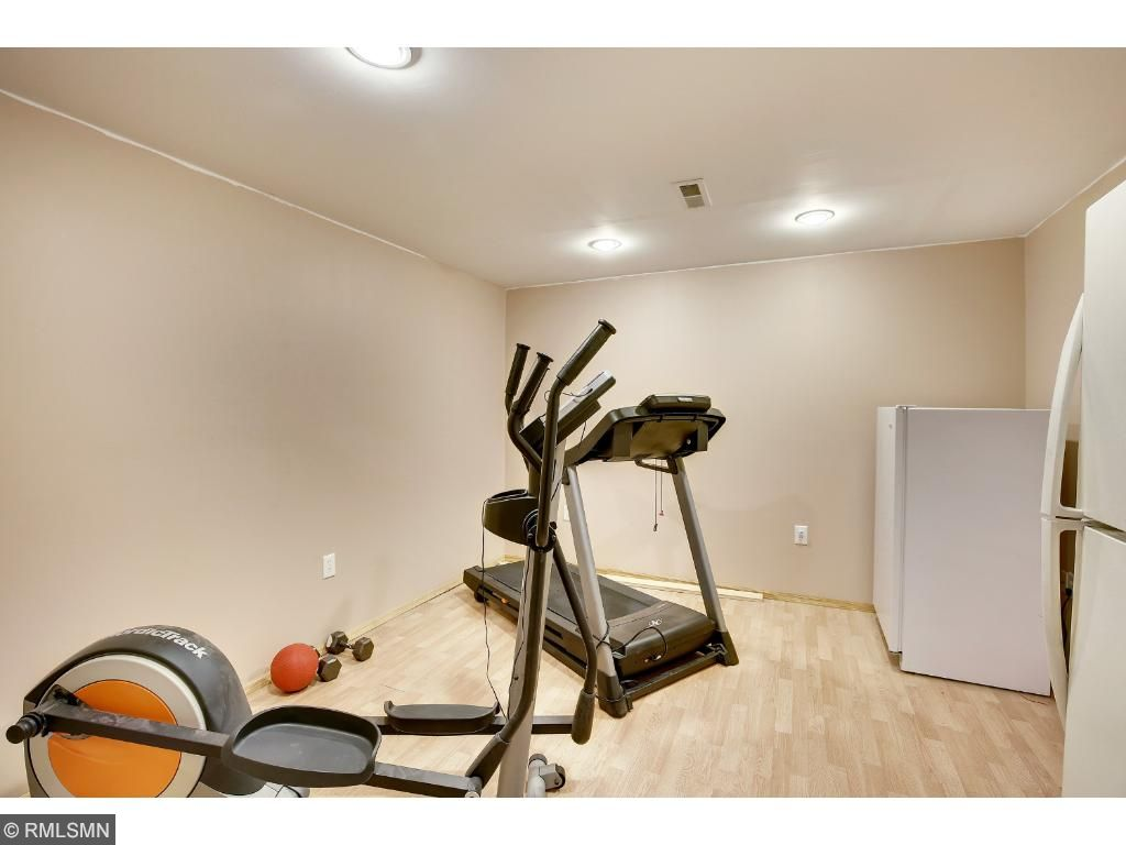 workout room could be used for additional storage.