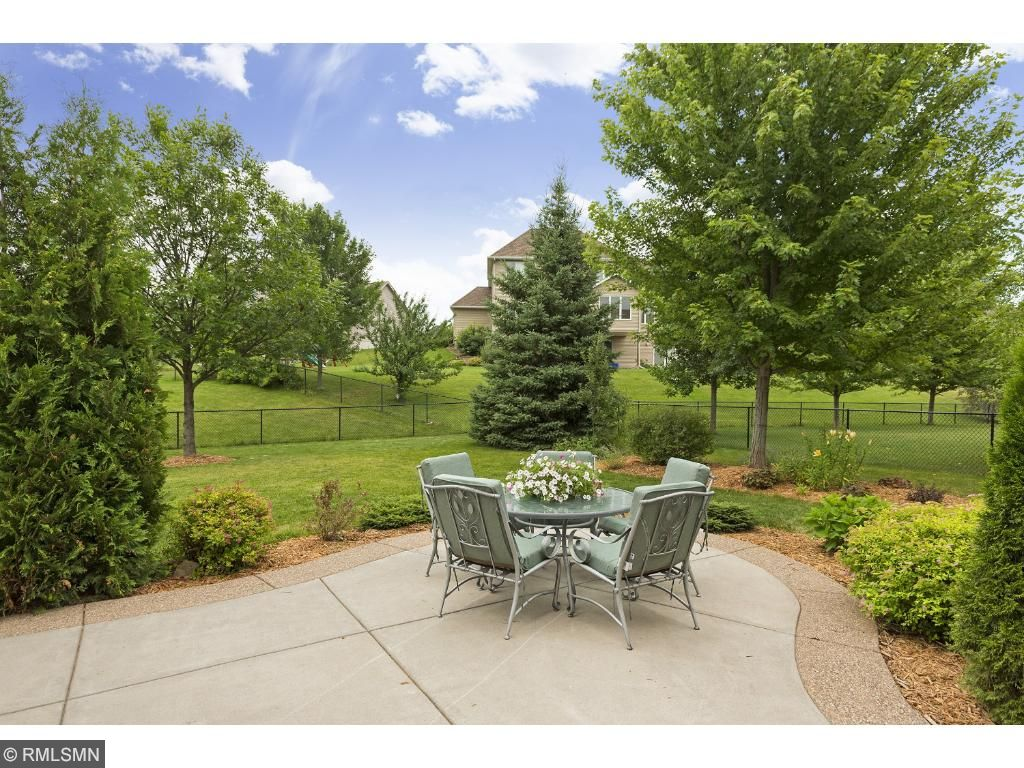 Enjoy summers on your private, custom-designed patio.