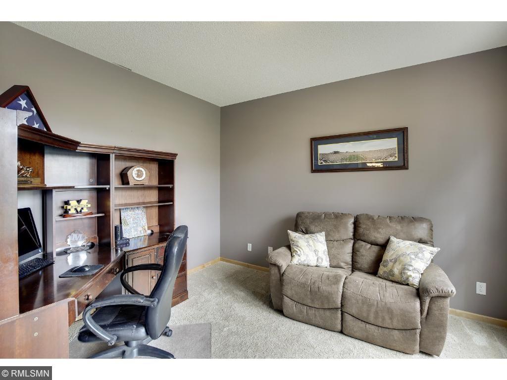 Formal living room/den area of foyer.