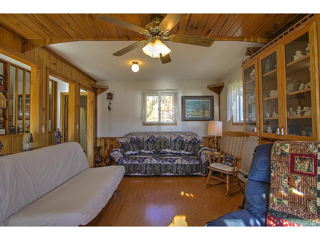 Inviting family room with all the comforts of home