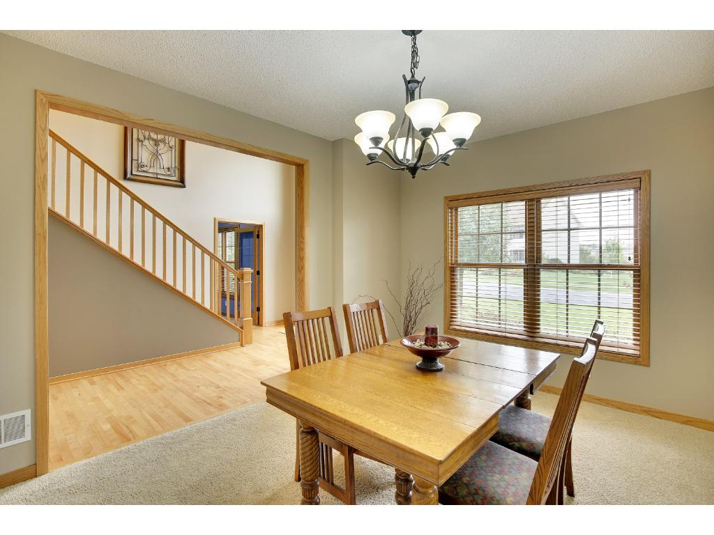 Dining room, separate eat-in kitchen and island allow for ample seating.