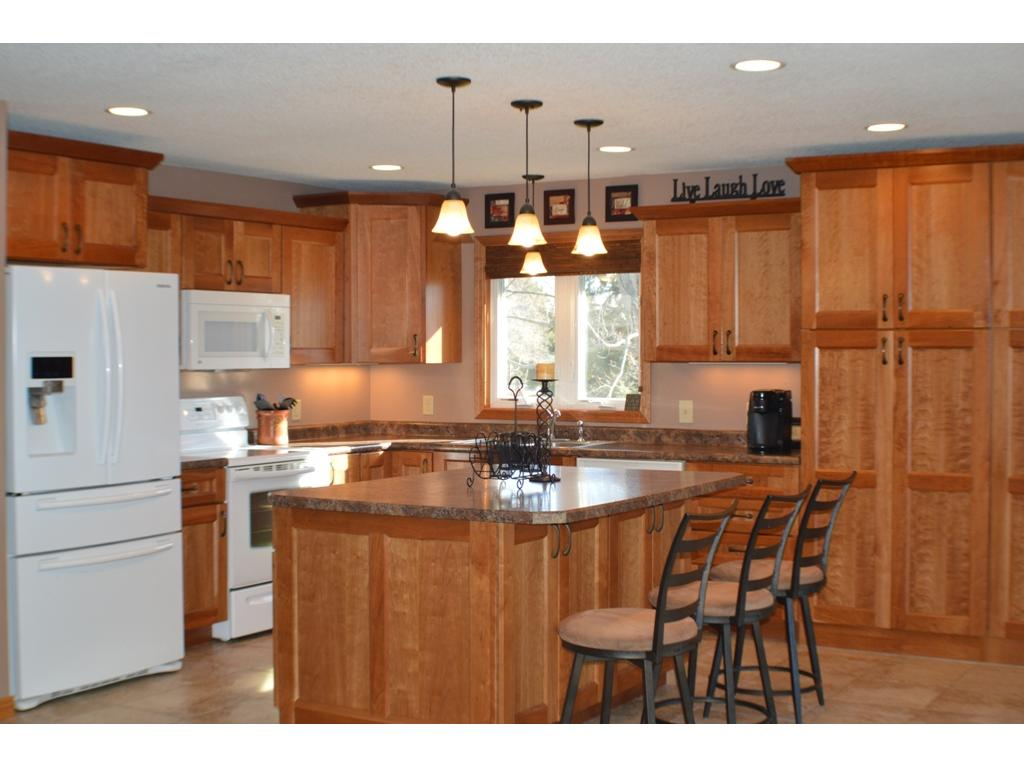 Upgrade appliances, under cabinet lighting and updated fixtures makes a great impression!