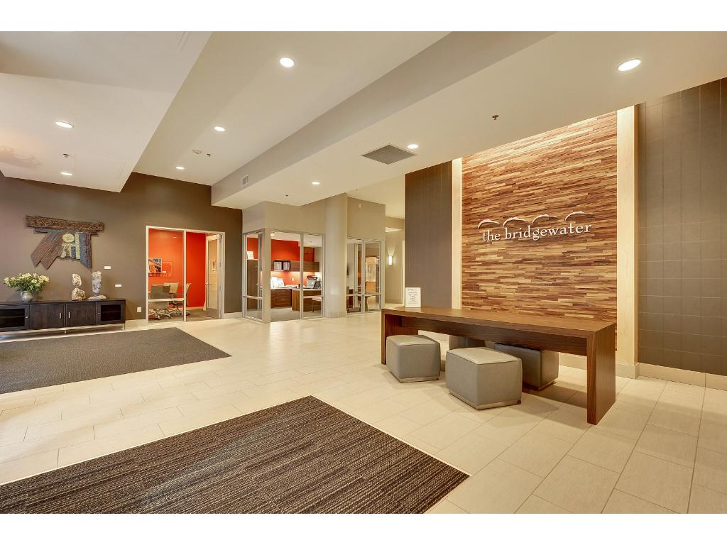 Bridgwater features a newly designed lobby!