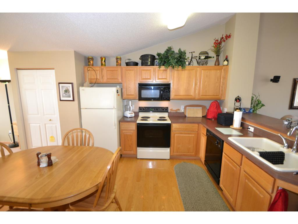Large kitchen with ample counter space!