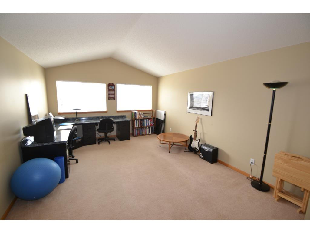 Huge family room that could be an office, exercise room or rec room!