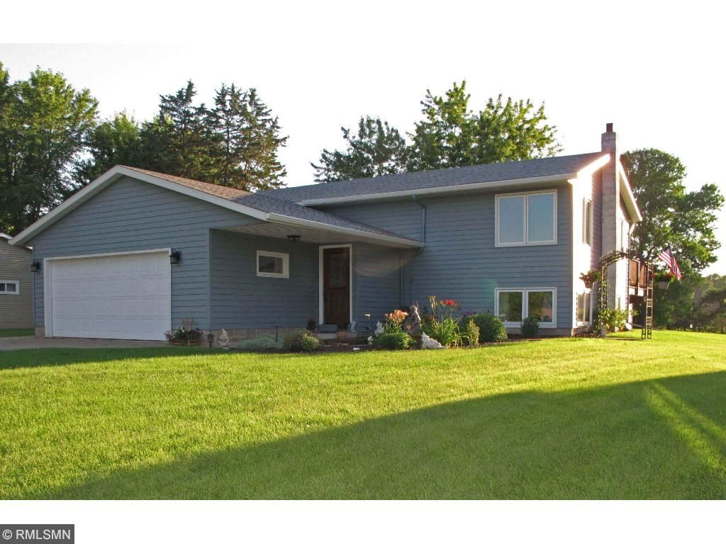 Beautiful curb appeal on the updated 3 BR, 2 BA updated home.