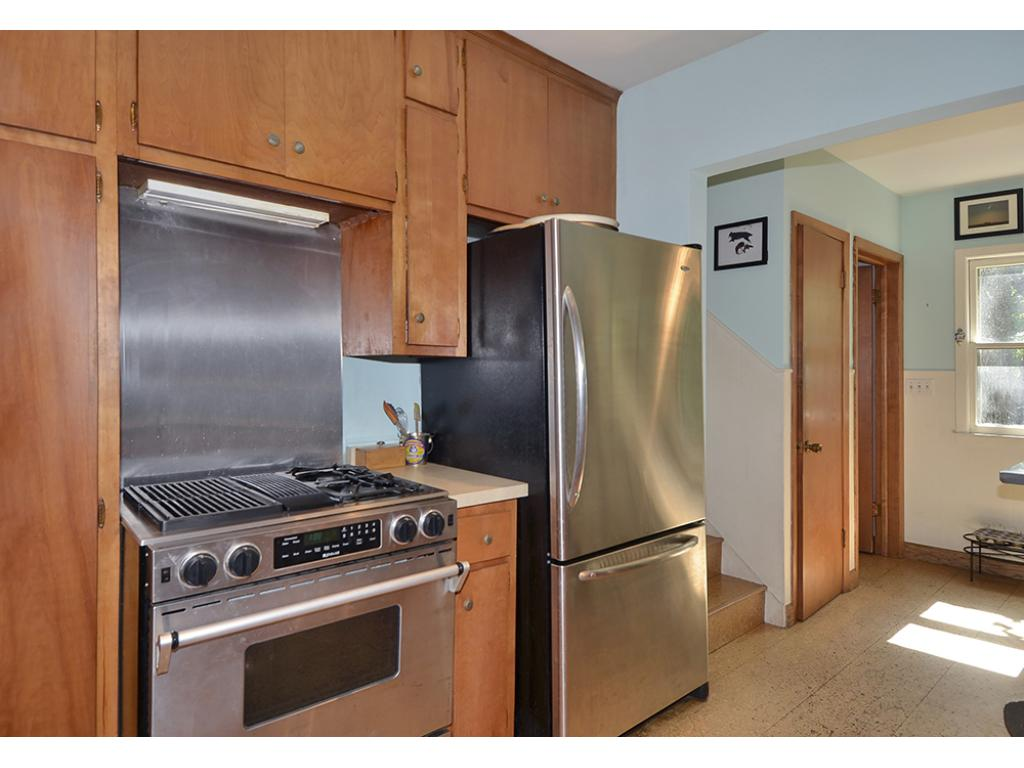 The spacious Kitchen has newer Stainless Appliances