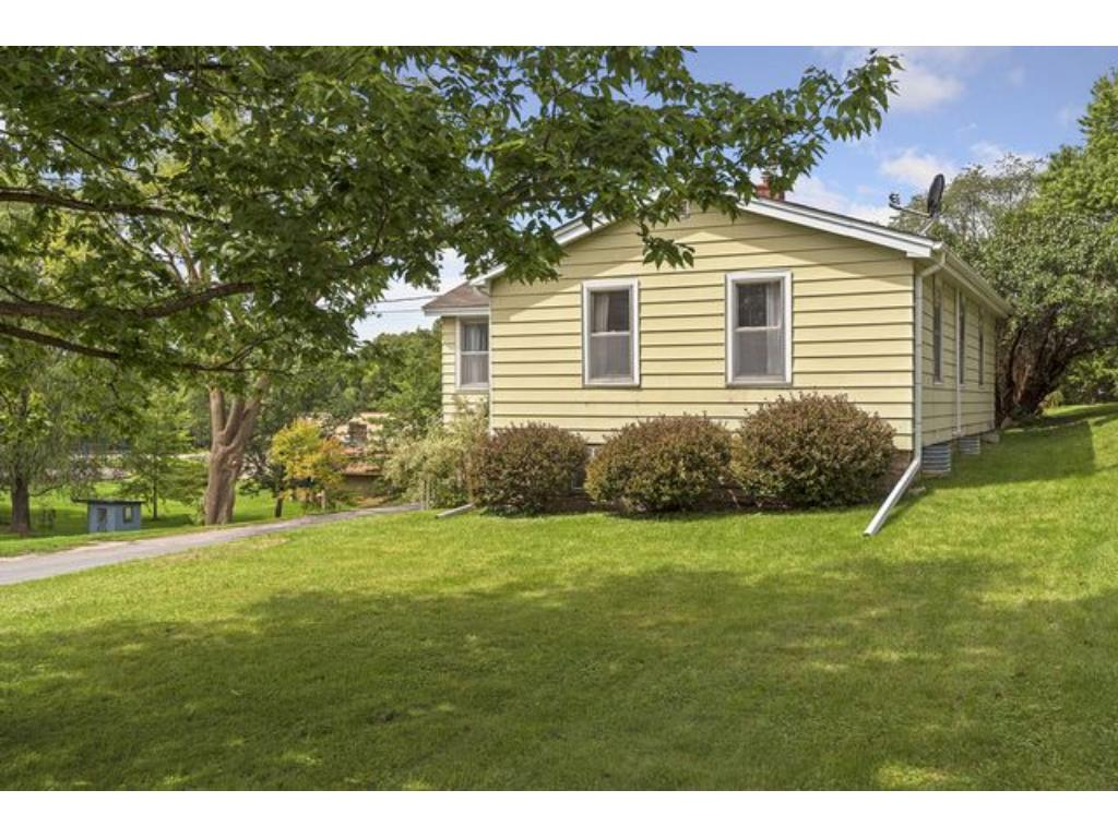 Great curb appeal and a large yard makes this charming home very pet friendly!