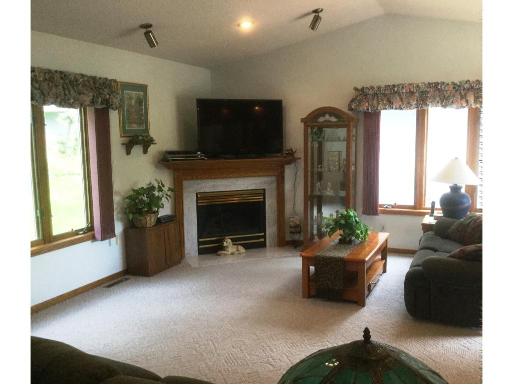 Experience the open & bright floor plan featuring main level family room with gas fireplace...