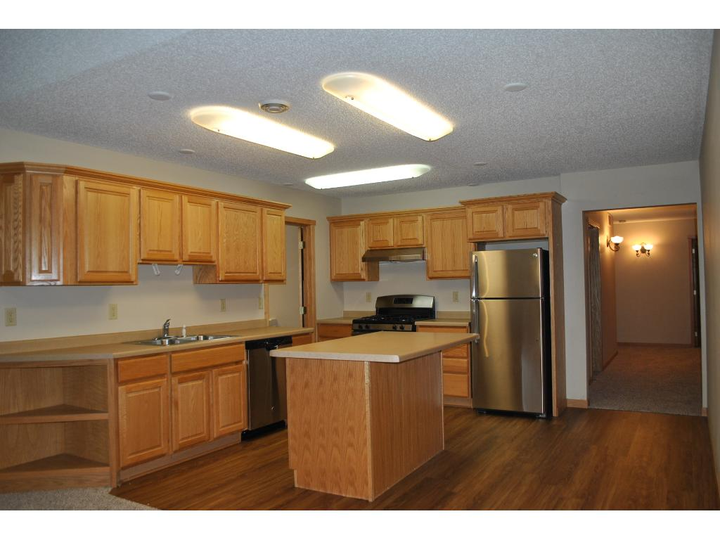 Open Floor plan, center island, new SS appliances
