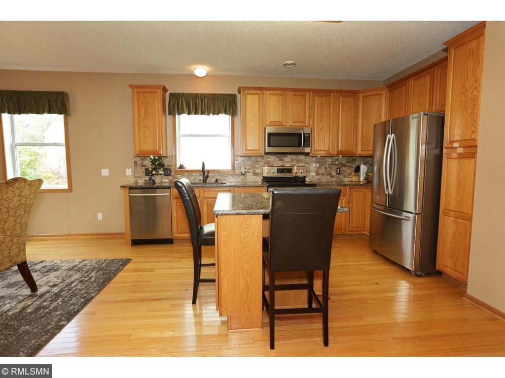 Beautiful updated kitchen.  New countertops and appliances.  Large workspace makes cooking a breeze.