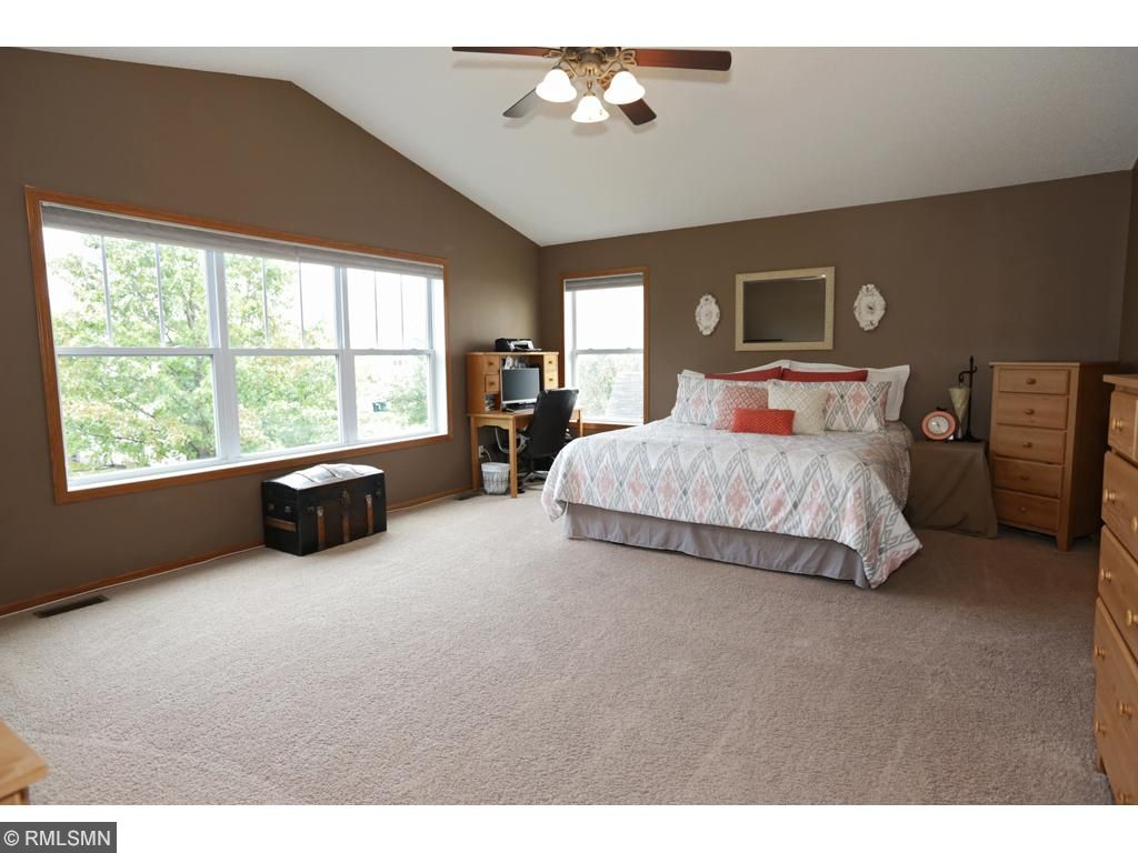 Giant master bedroom suite.  All the privacy you need!