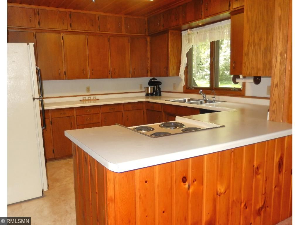 Enjoy cooking in the spacious kitchen with lots of counter space.