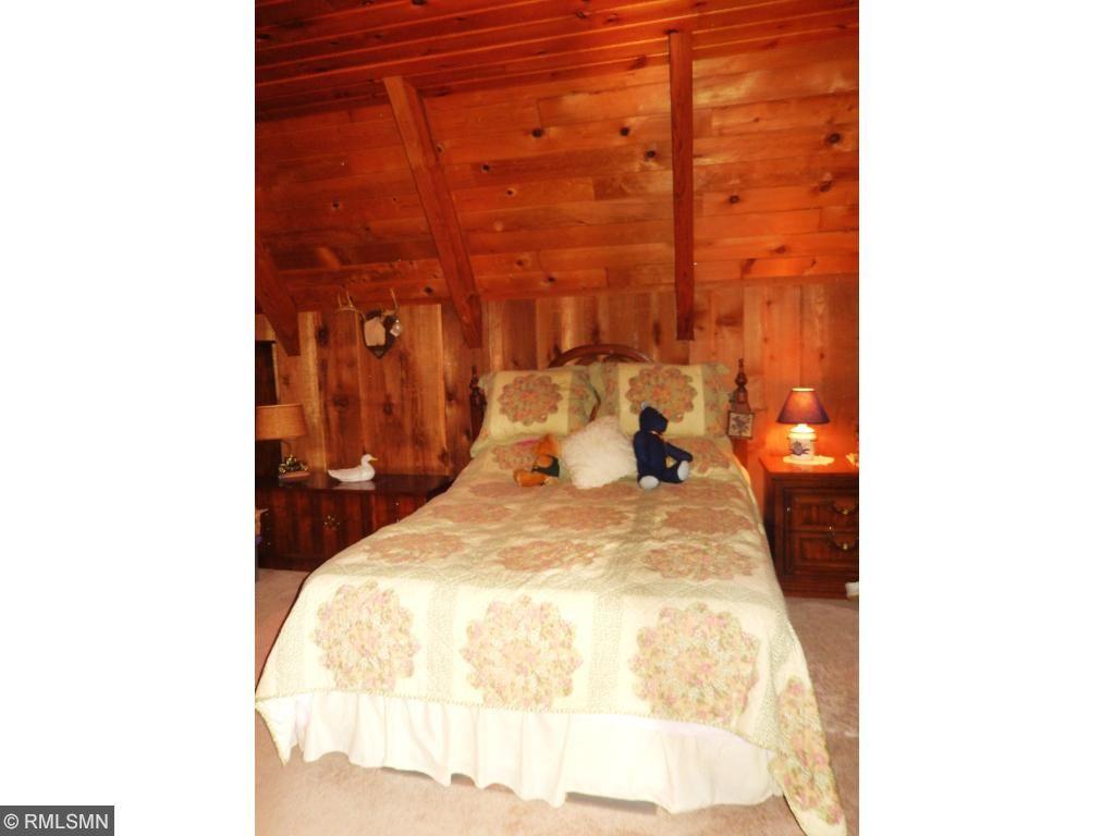 Main level large bedroom.