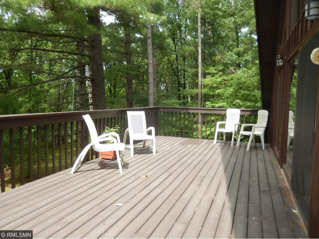 The deck is very well maintained.