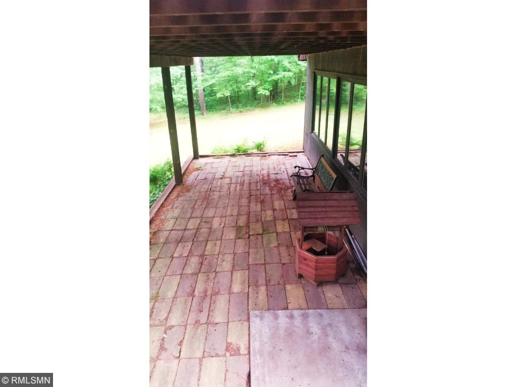 Walk out lower level to the front yard and your patio.  Great place for those that like a hot tub!