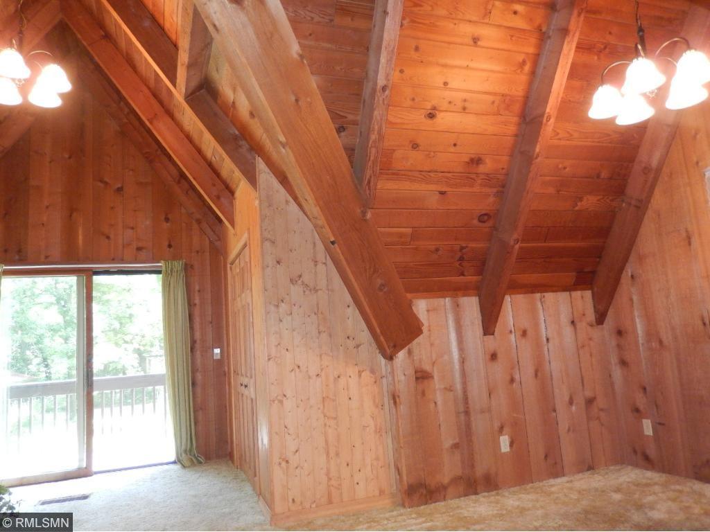 Patio doors to your deck on your upper level bedroom.