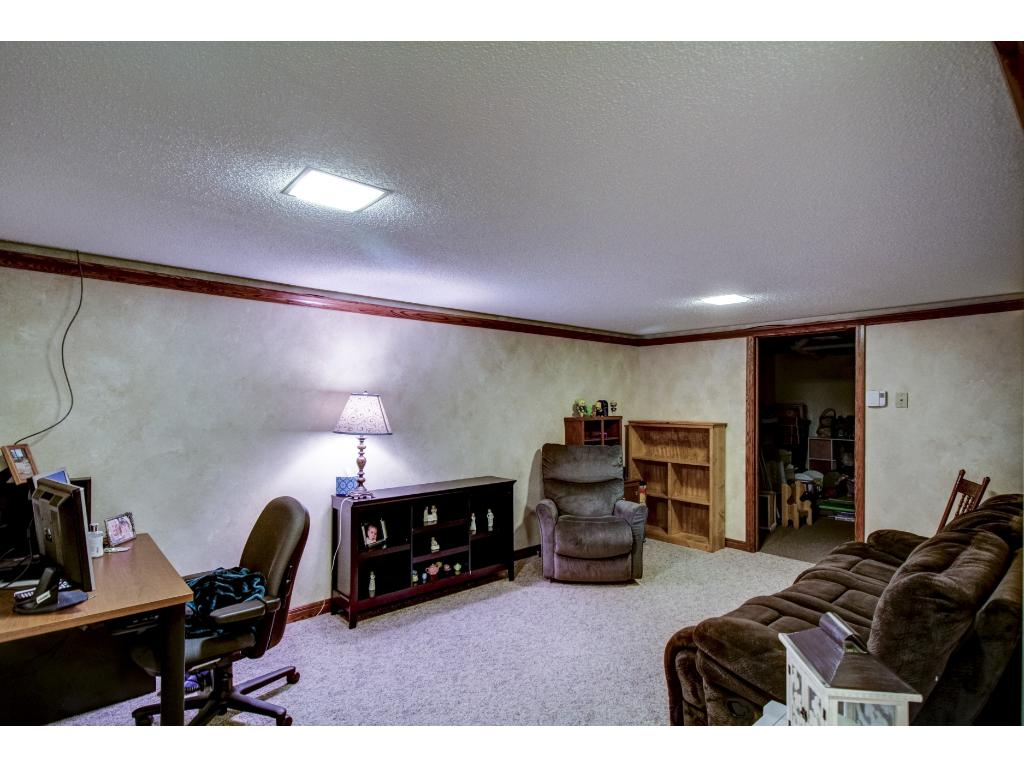 Partially Finished Basement; Makes for Great Family Room