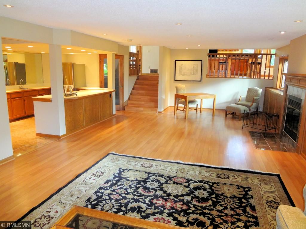 Family room also offers a large wet bar and 3/4 bath.