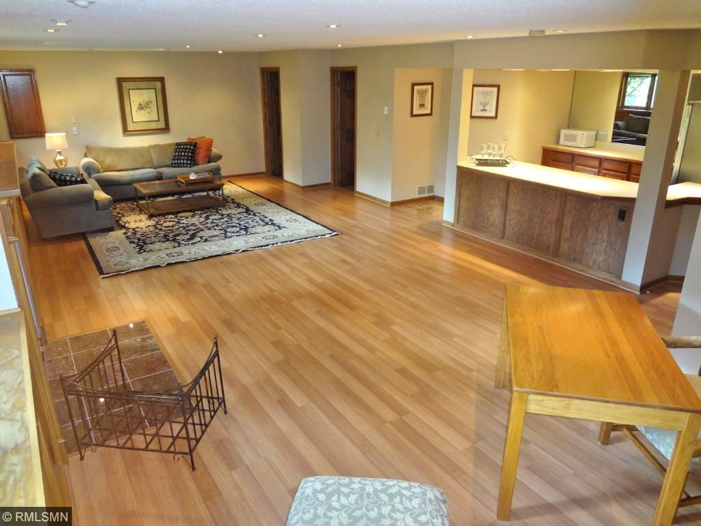 Look at all the space in the family room. And there is MORE!