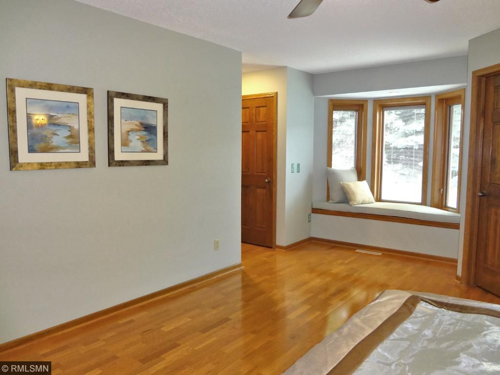 Owner's suite boasts plenty of space and includes large walk-in closet and two side closets.