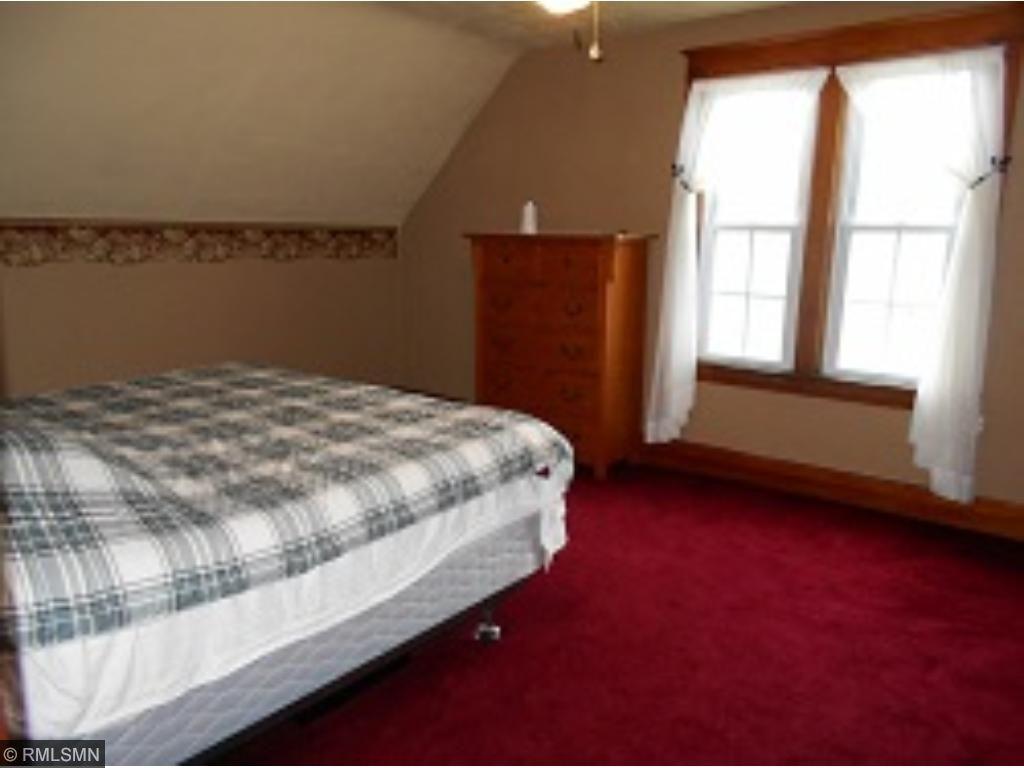 Upstairs bedroom, very roomy.