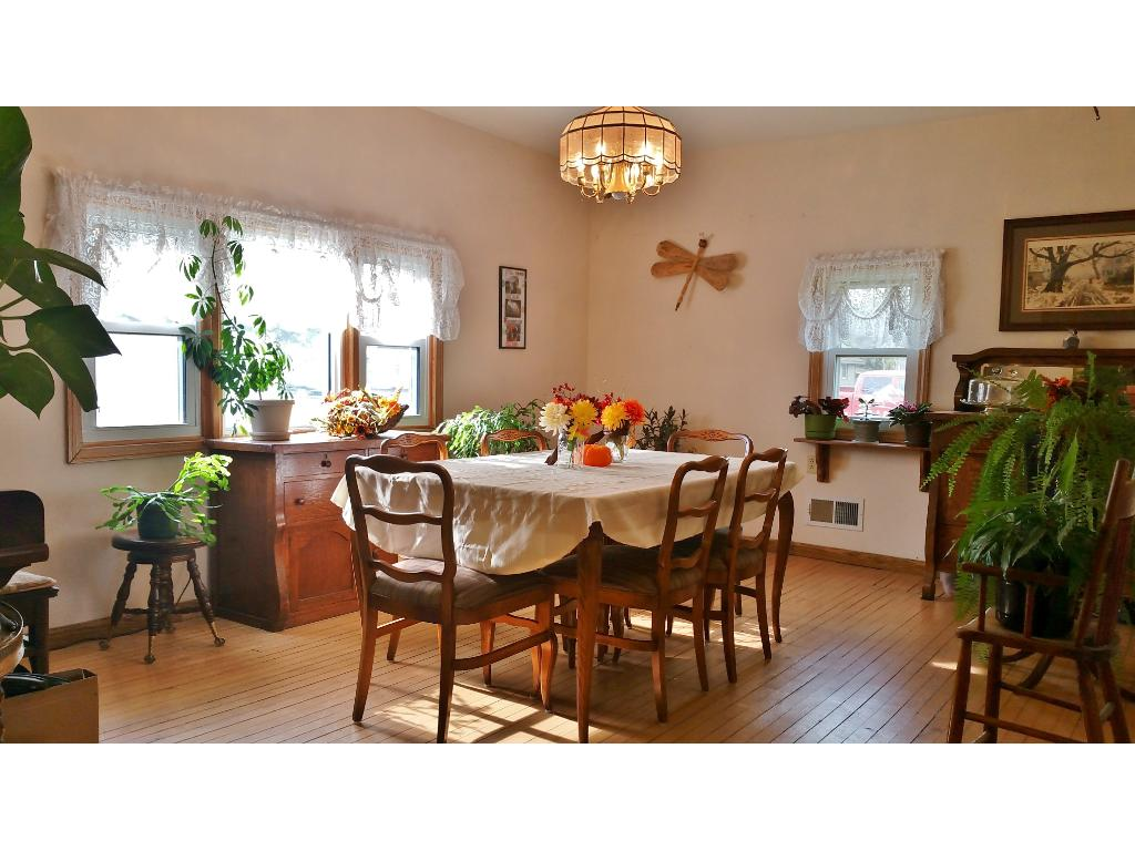 Spacious formal dining room with lots of natural light for all those gatherings!