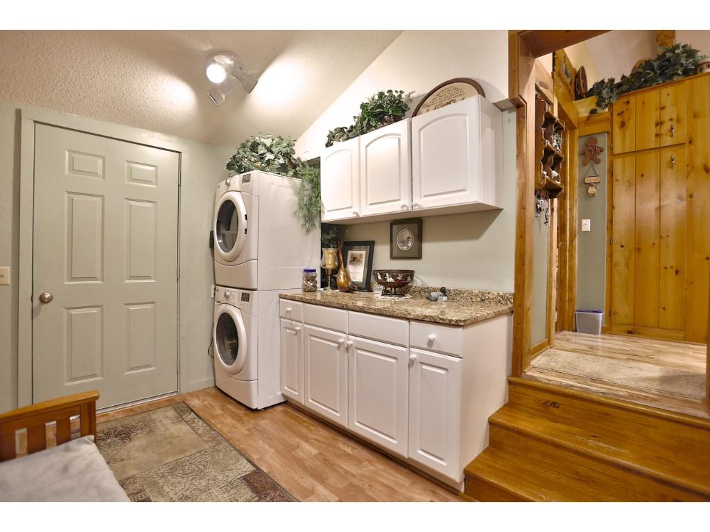 Entryway/laundry room as you come in from the garage.