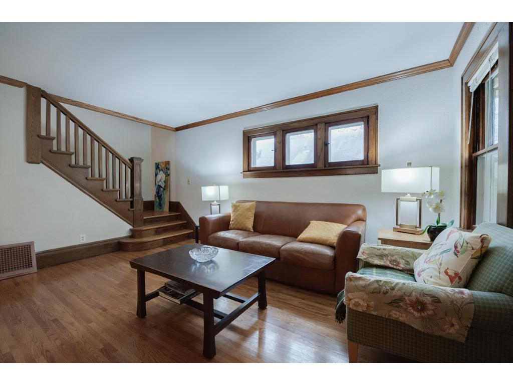 This delightful West St. Paul bungalow offers updates thru-out while maintaining the timeless charm of the home! A freshly painted interior accents the beautiful original woodwork thru-out!