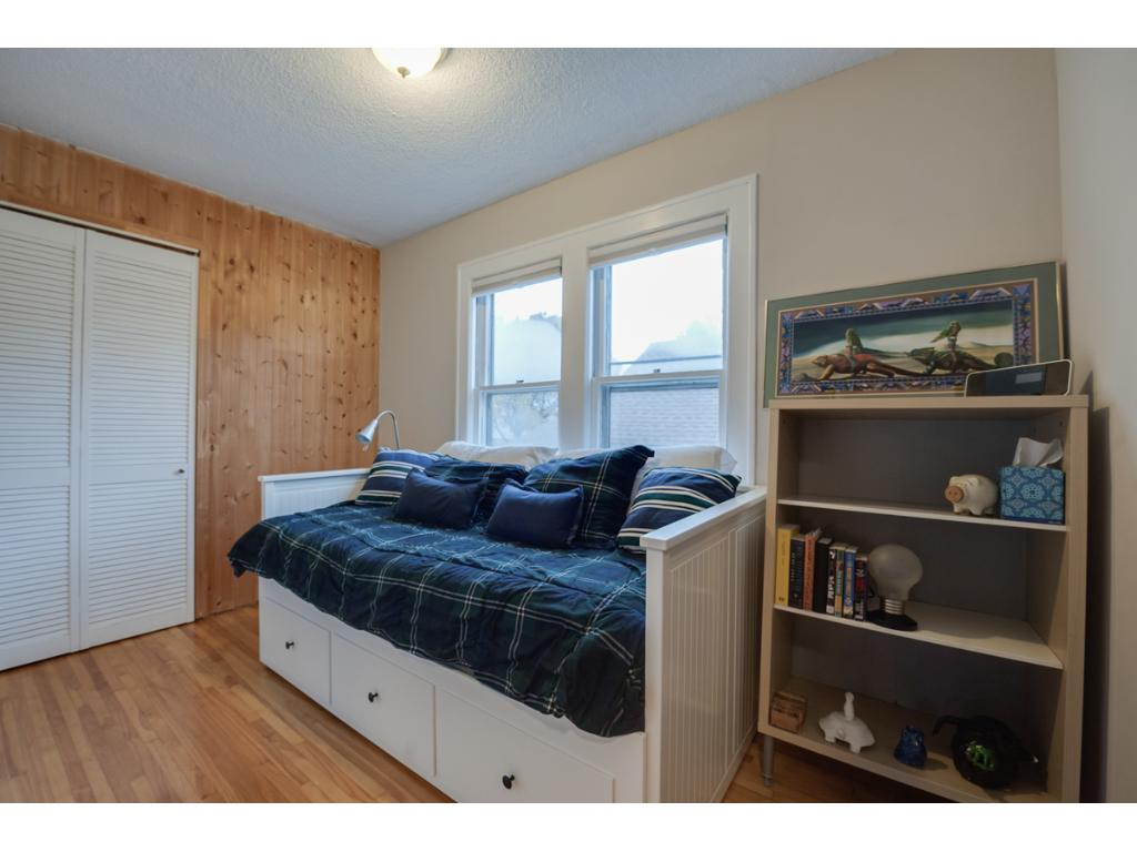 View of the 2nd bedroom on the upper level.