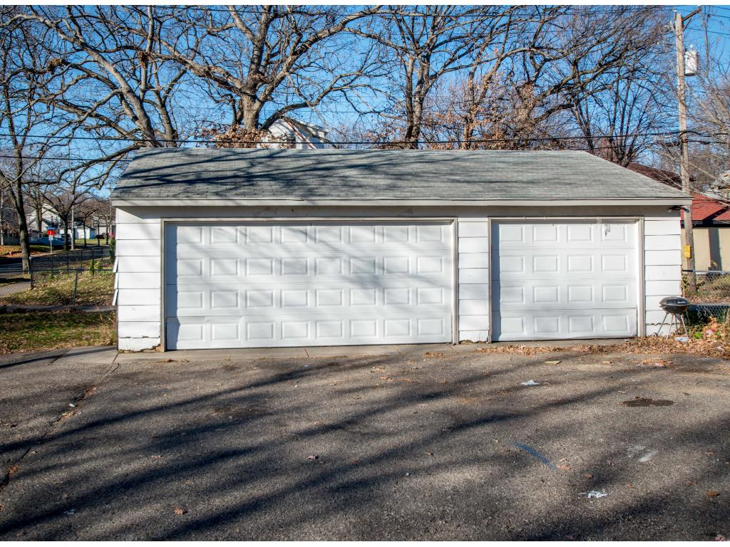 3 car garage with ample off street parking